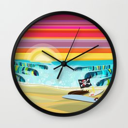 MCKINLEY AVENUE Wall Clock