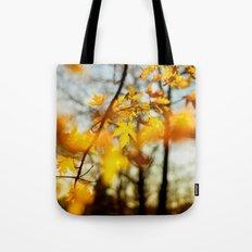 Autumn's Golden Grace Tote Bag