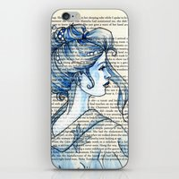 geisha iPhone & iPod Skins featuring Geisha by Karen Hallion Illustrations