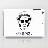 tenenbaum iPad Cases featuring Heinsbergen (Royal Tenenbaums/Breaking Bad) by Tabner's