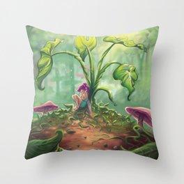 Fairy Tears Throw Pillow