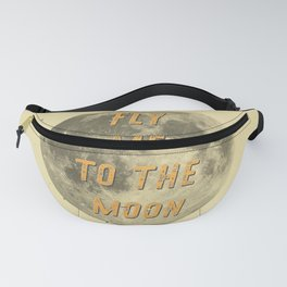 Fly me to the Moon - 50 Years Moon Landing Fanny Pack