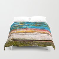 portland Duvet Covers featuring The Portland by Priscilla Clare