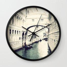 Ponte dei Sospiri, Venice Wall Clock