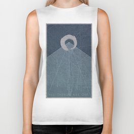 All Things Are One Biker Tank