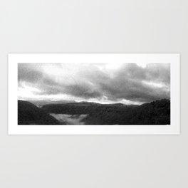 Fog Art Print