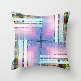 Disequilibrium Throw Pillow