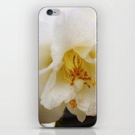 White Camellia iPhone Skin