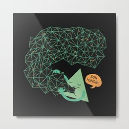 trigoNOMNOMNOMetry Metal Print