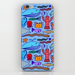 Colours Under the Sea iPhone Skin