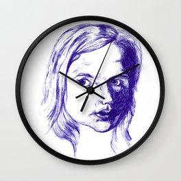 Girl Wall Clock