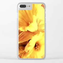 Daffodils In Spring Clear iPhone Case