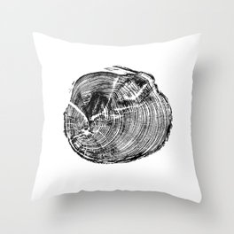 Scotts Pine Throw Pillow