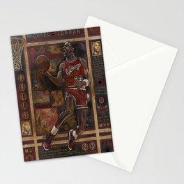 Micheal jordan Stationery Cards
