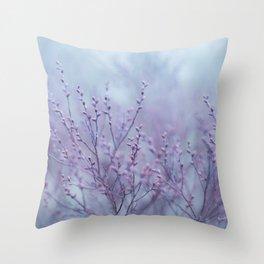 Pale Spring Throw Pillow