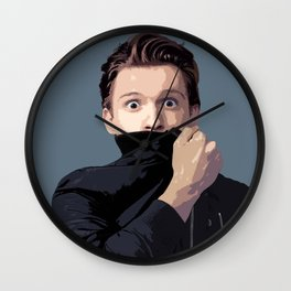 Tom Holland 2 Wall Clock