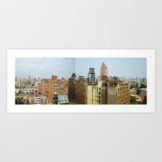 NY_NE Art Print