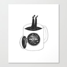 cup of demons Canvas Print