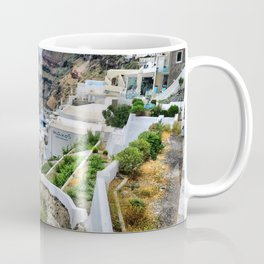Santorini 3 Coffee Mug
