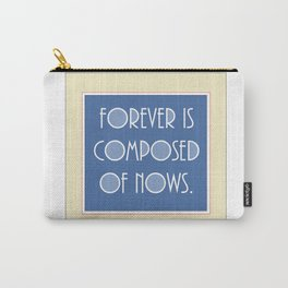 Emily Dickinson quote. Carry-All Pouch