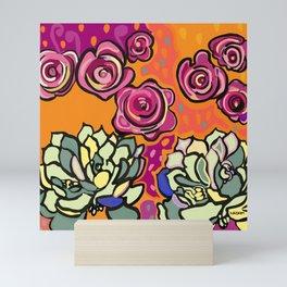 The mesmerising promise of roses Mini Art Print