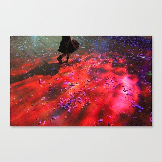 dancing floor Canvas Print