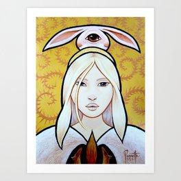 Waposo - Rabbit Art Print