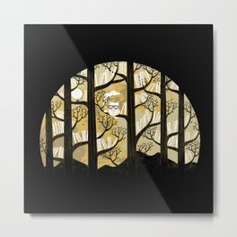 Why is an owl smart Metal Print