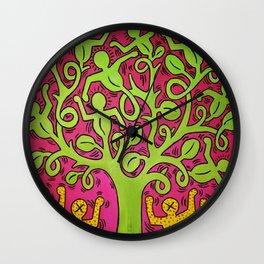 Copy of Tree of Life - Keith Haring Wall Clock