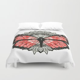 Save the Monarchs Duvet Cover