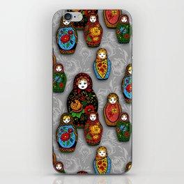 Matryoshki pattern iPhone Skin