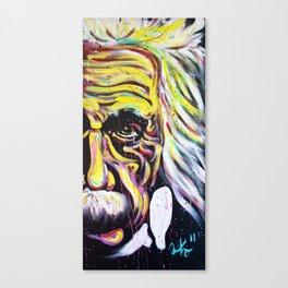 Albert Einstein   E=MC 2 Canvas Print