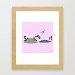 Buddy Framed Art Print