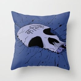 Epic Air Battle Throw Pillow