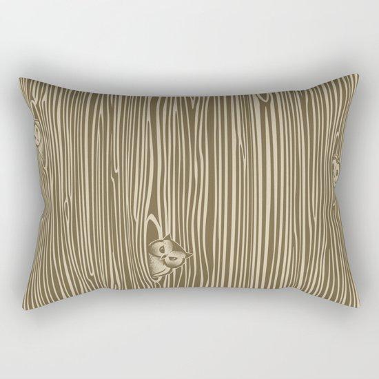Against the Grain Rectangular Pillow