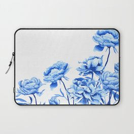 blue peonies 2 Laptop Sleeve