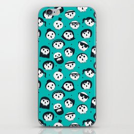 The Well Dressed Dead iPhone Skin