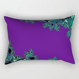 Asymmetrical Fractal 218 Rectangular Pillow