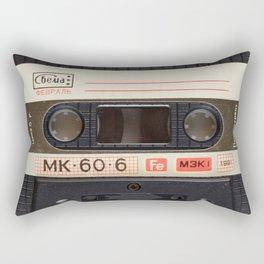 Retro 80's objects - Compact Cassette Rectangular Pillow