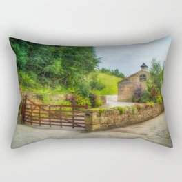 Country Stables Rectangular Pillow