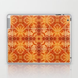 A Damask pattern is inspired by rococo and baroque wallpaper patterns of the 19th Century. Laptop & iPad Skin