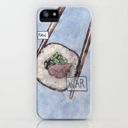 War / Raw iPhone Case