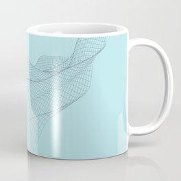 Smooth network wave art Coffee Mug
