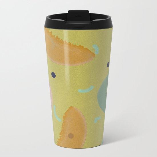 Cantaloupe Metal Travel Mug