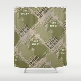 GOT MILK ? Shower Curtain