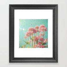 Pink Milkweed Framed Art Print