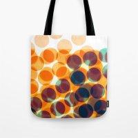 dots Tote Bags featuring Dots by Yordanka Poleganova