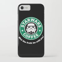 coffe iPhone & iPod Cases featuring SW Coffe by ismaeledits