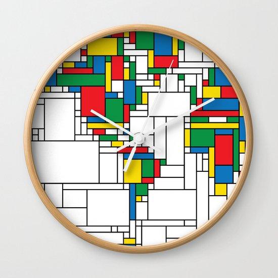 World Map - Modern Wall Clock
