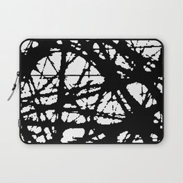 tension, black and white Laptop Sleeve